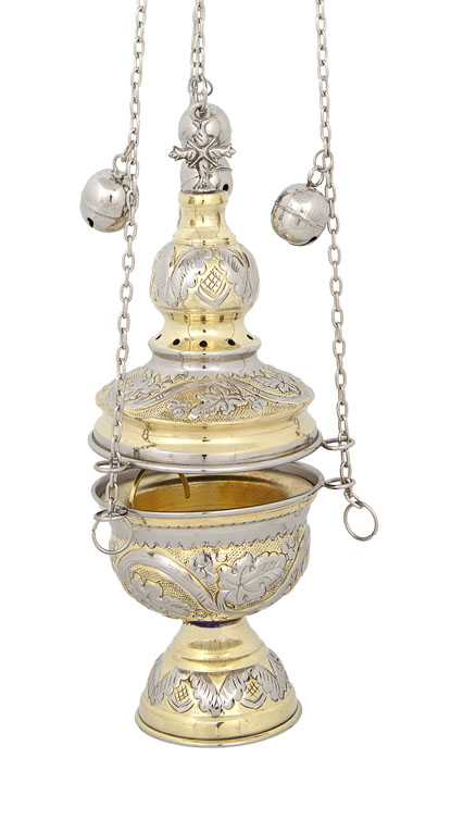 Two Colored Church Thurible