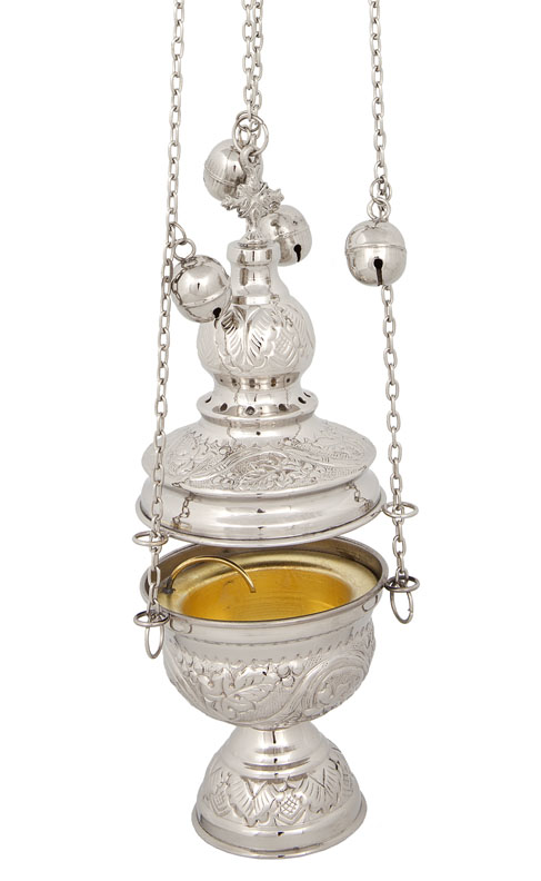 Nickel Plated Church Thurible