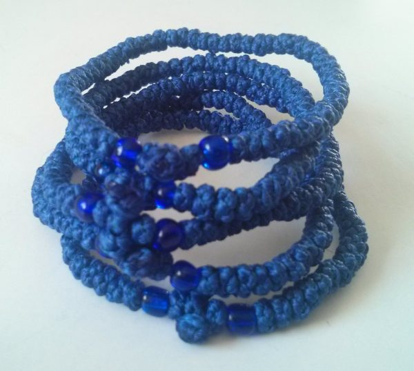 Blue Prayer Rope