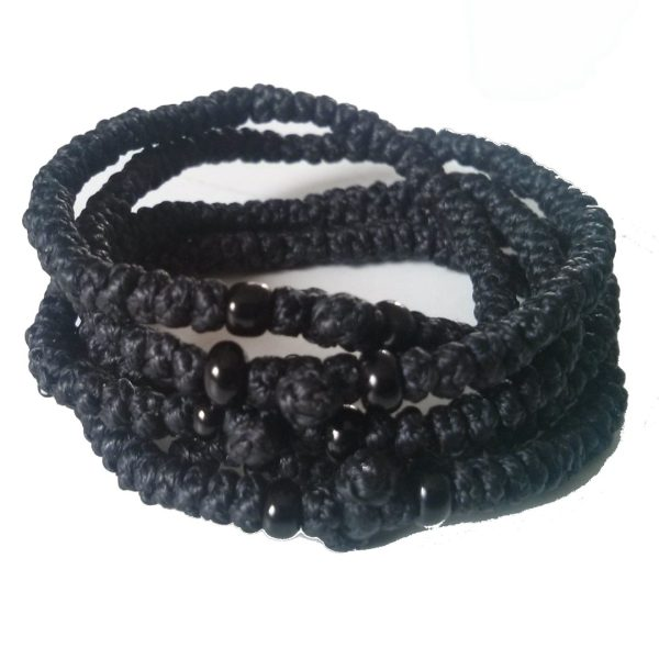 Black Prayer Rope