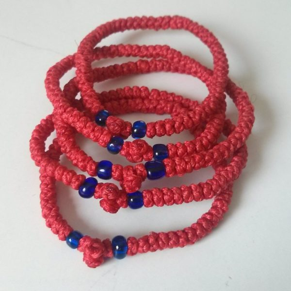 Red Prayer Rope