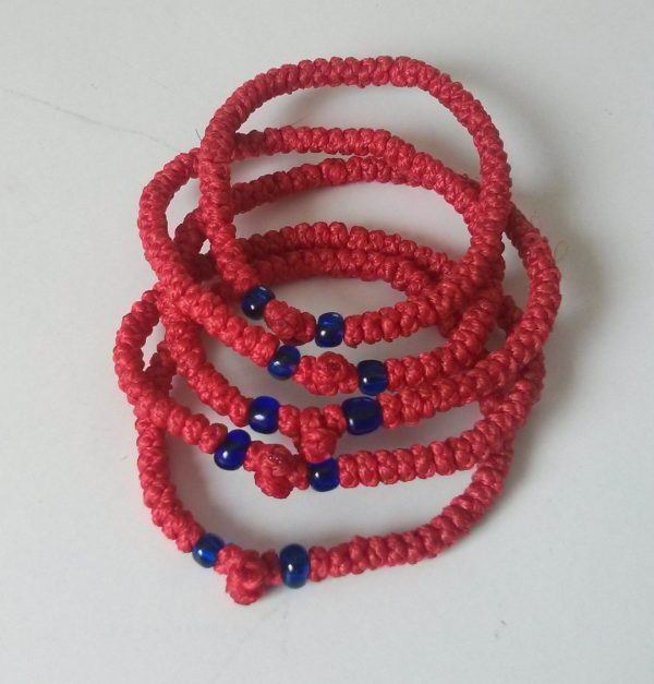 Red Prayer Rope