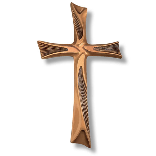 Brass Wall Cross