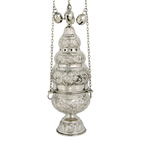 Nickel Plated Thurible Censer
