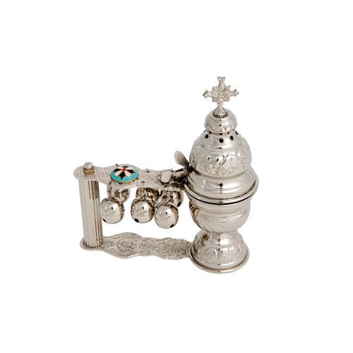Nickel Plated Katsion Censer