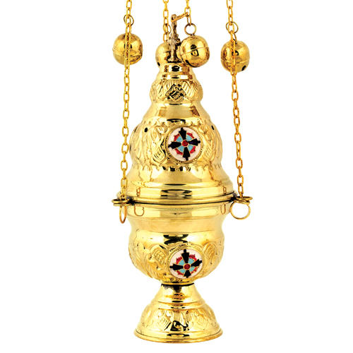 Gold Plated Thurible Censer