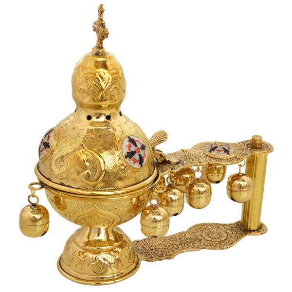 Gold Plated Katsion Censer