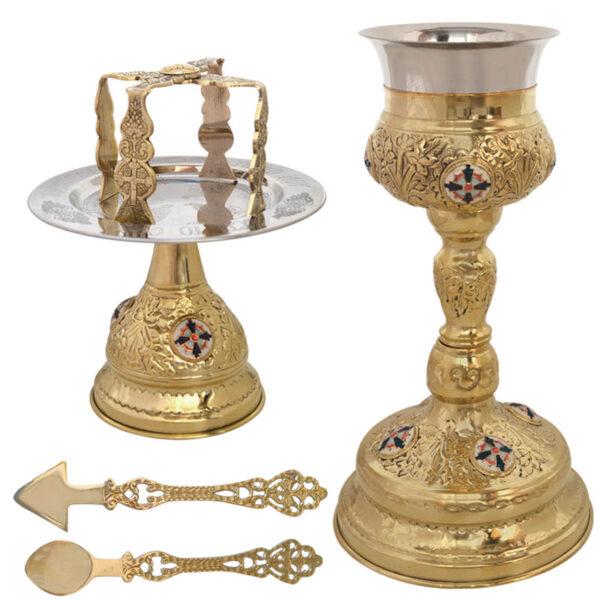 Brass Church Chalice