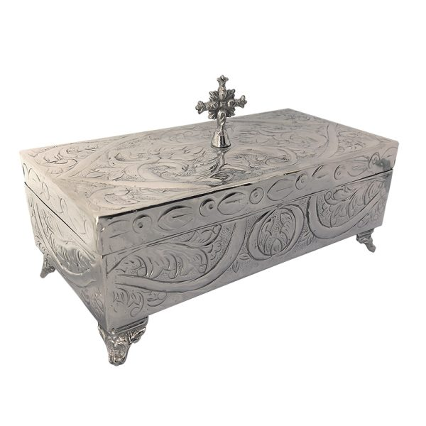 Nickel Plated Reliquary