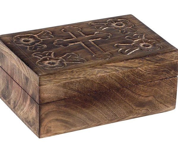 Handmade Rosary Box