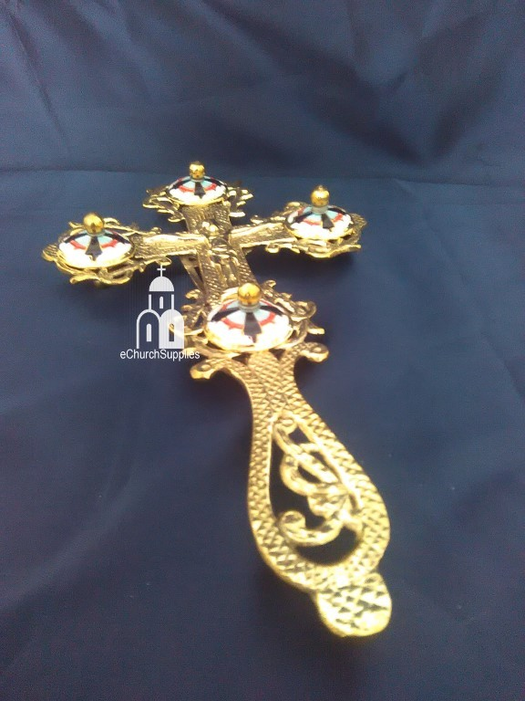 Blessing Cross with Enamel