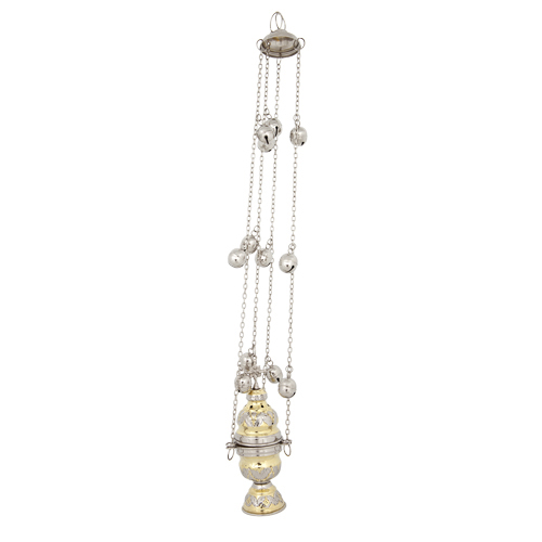 Two-tone Brass Thurible