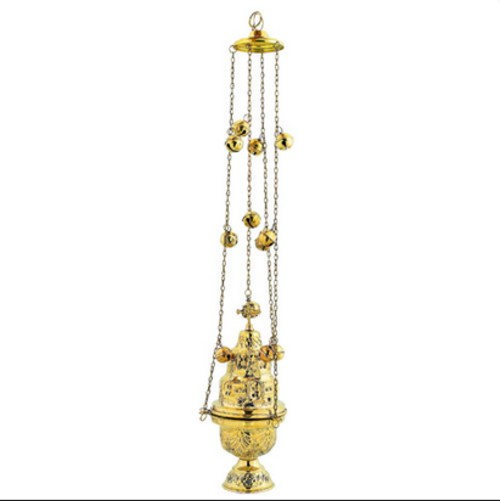 Gold Plated Thurible
