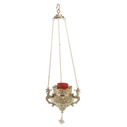 Large Hanging Vigil Lamp