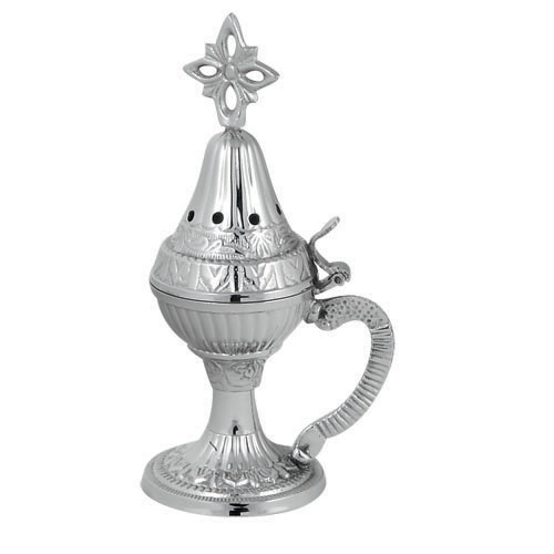 Nickel Plated incense burner