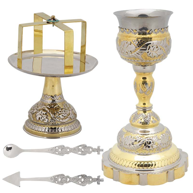 Two Colored Chalice Set
