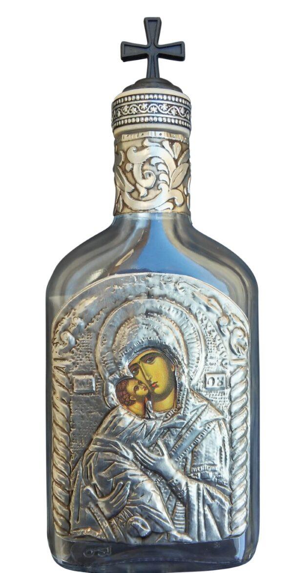 Holy Water Bottle Theotokos Dexiokratousa