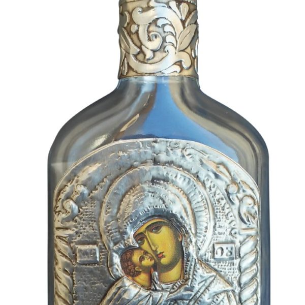 Holy Water Bottle Theotokos Dexiokratousa