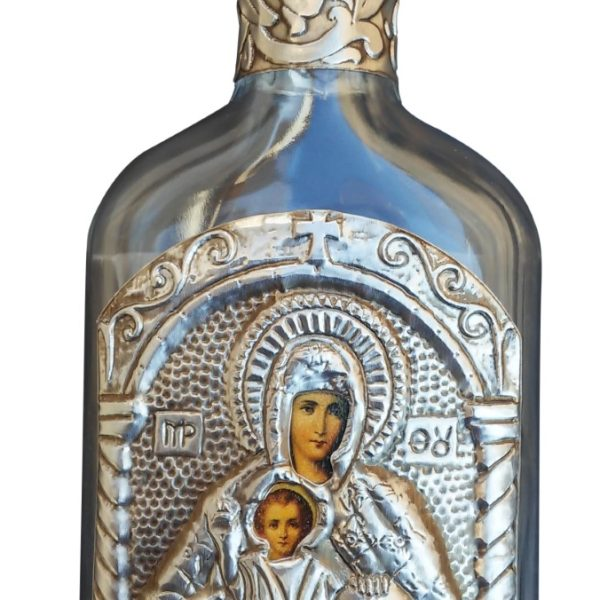 Holy Water Bottle Theotokos Pantanassa