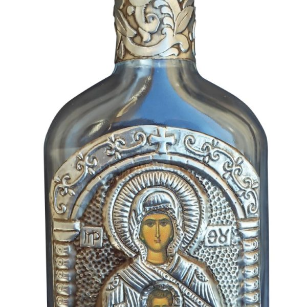 Holy Water Bottle Virgin Mary the Liberator Eleutherotria