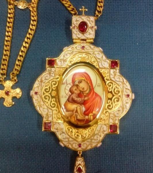 Gold Plated Panagia