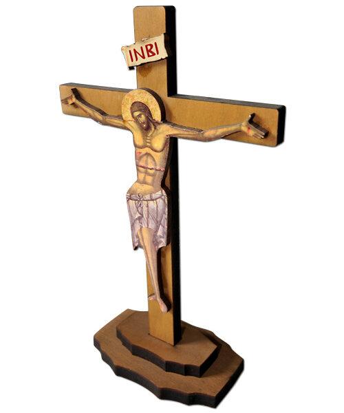 Standing Wooden Crucifix